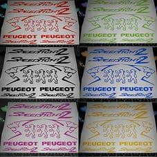 Peugeot speedfight 2 Decals/Stickers