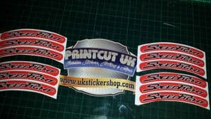 Peugeot speedfight Rim tape Wheel stickers EXCLUSIVE 50 70 100 SF1 SF2 SF3 RS D
