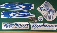 Piaggio Typhoon Decals/Stickers swirl kit2