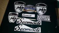 Scomadi turismo Leggera Stickers Decals, Many Colours Available, 50 125 250 300