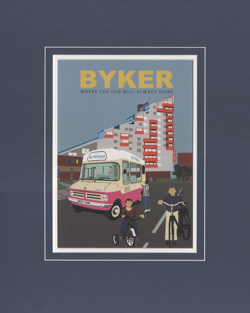 Byker - Where The Sun Will Always Shine