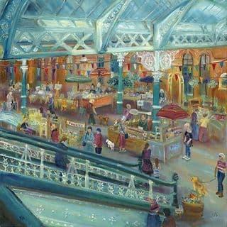 Kate Van Suddese Greeting Card - Happy Days - Tynemouth Market