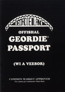 Offishal Geordie Passport