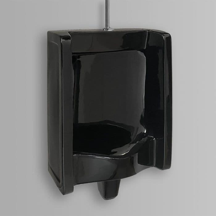 Healey & Lord Florida Black Traditional Ceramic Urinal