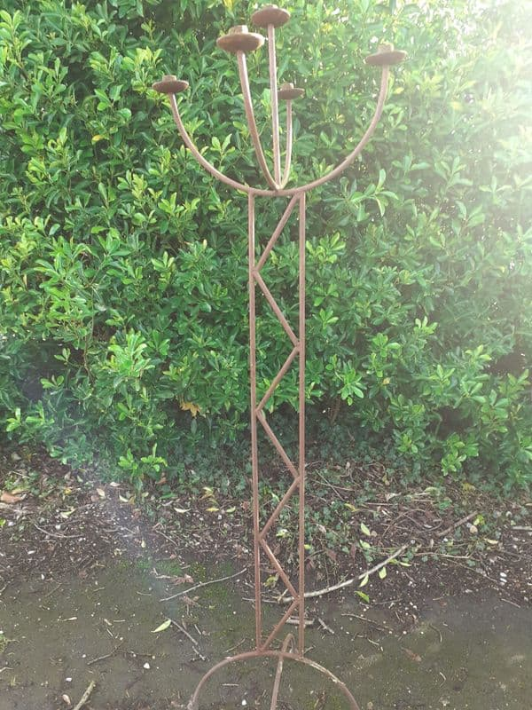Rusty Candle Stand