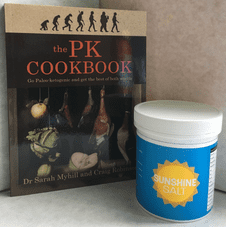 A Cookery Offer! - PK Cookbook and Sunshine Salt