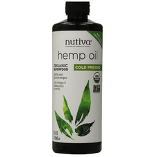 Hemp Oil organic, cold pressed  710ml  (24 fl oz)