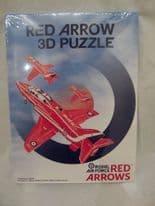 3D Red Arrows Foam Puzzle Plane