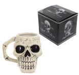 Ancient Skull Head Mug