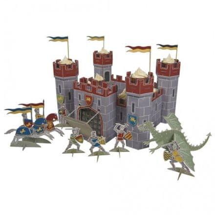Brave Knights Castle Cupcake Centerpiece
