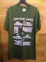 British Army Tanks - WWII / Military T-Shirt
