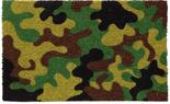 Camouflage Coir Door Mat