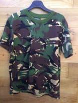 Children's Army Camouflage T-Shirt