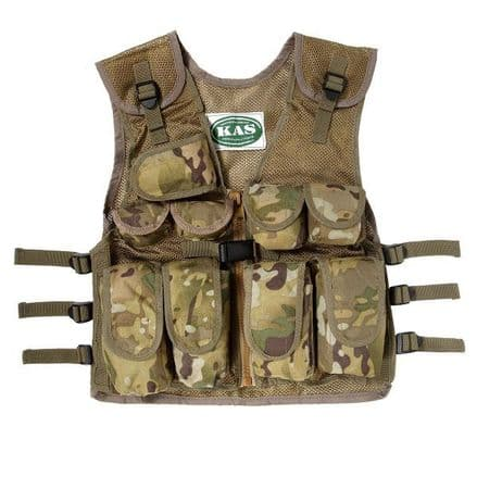Children's Multi Terrain Camo Assault Vest