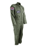 Children's Olive Green Flying Suits