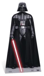 Darth Vader Classic Star Wars Life Size Star Cutout