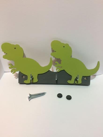 Dinosaur Wooden Key Rack