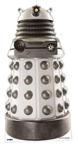 Dr Who - White Supreme Dalek Lifesize Star Cutout
