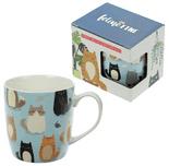 Feline Fine Cat New Bone China Mug