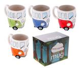 Funky Novelty Camper Van Design Mug