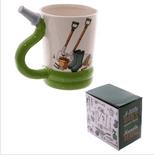 Garden Hose Shaped Handle Mug