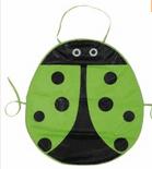 Green Ladybird Children's Apron