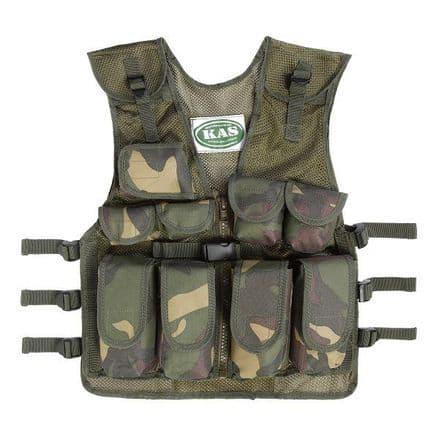 Kids Army Camouflage Assault Vest