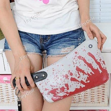 Knife style clutch bag