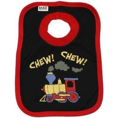 Lazyone Boys Chew Chew Baby Bib
