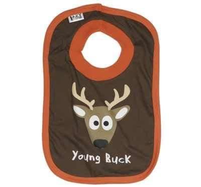 Lazyone Boys Young Buck Baby Bib