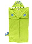 LazyOne Hooded Critter Fleece Dinosaur Blanket