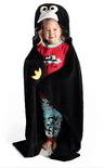 LazyOne Hooded Critter Fleece Penguin Blanket