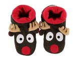 LazyOne Unisex Reindeer Woodland Slippers