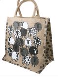 Medium Sheep Jute Bag