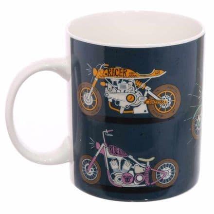 Motorbike New Bone China Mug