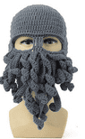 Octopus Knitted Balaclava / Beanie Hat