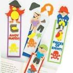 Pirate Foam Bookmark Kits