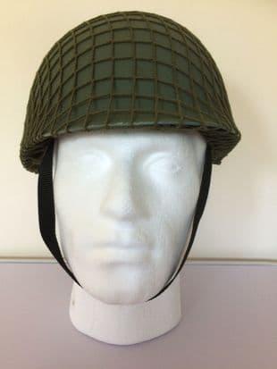 Plastic M1 Helmet with Nylon Net Cover