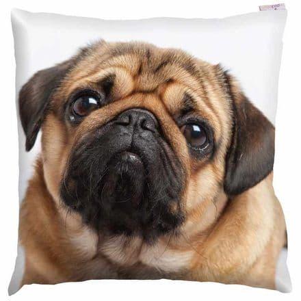 Pug Photo Design Cushion