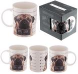 Pug Shot Mug by Jack Evans