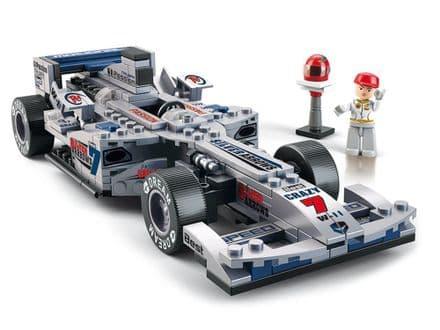 Racing Car -  Silver -  B0352