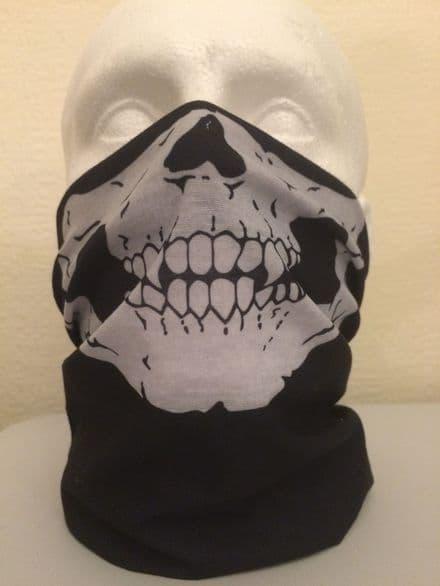Skull Multifunctional Half Face Mask