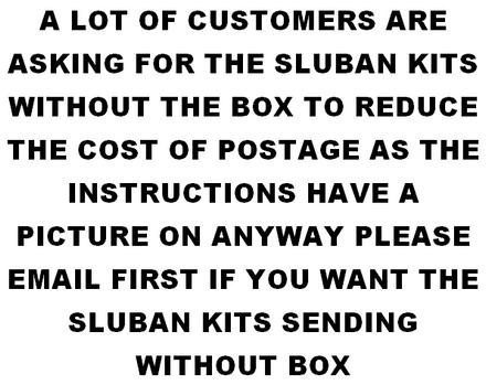 SLUBAN KITS WITHOUT BOX