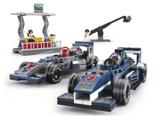 Sluban Racing Team, Racing Cars Set - B0355