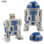 Star Wars Style R2D2 Robot USB 16GB Flash Disk