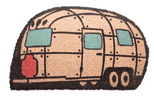 Streamline Caravan Shaped Coir Door Mat