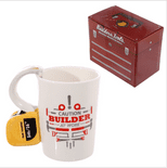 Tape Measure Handle Builder's Mug