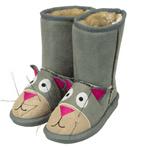 Toasty Toez Cat Slipper Boots