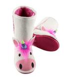 Toasty Toez Unicorn Slipper Boots for Children