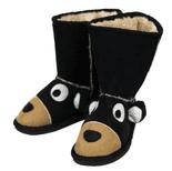 Toasty Toez Unisex Bear Slipper Boots for Children